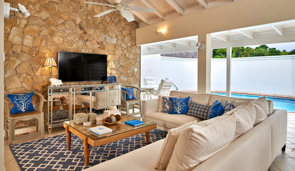 Calabash Luxury Boutique Hotel: Penthouse living room