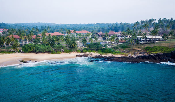 Anantara Peace Haven Tangalle Resort: Aerial view