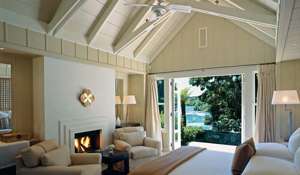 Huka Lodge: Owner's Cottage, Riverside Bedroom