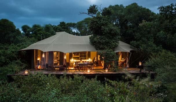 Mara Plains Camp, Kenya