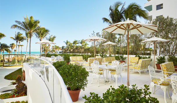 Faena Hotel Miami Beach: Pao terrace