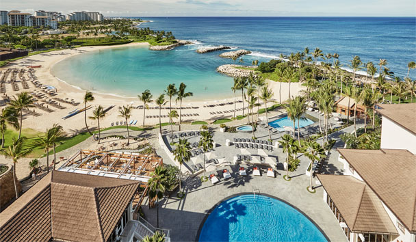 Four Seasons Resort Oahu at Ko Olina: View of Pool and Beach