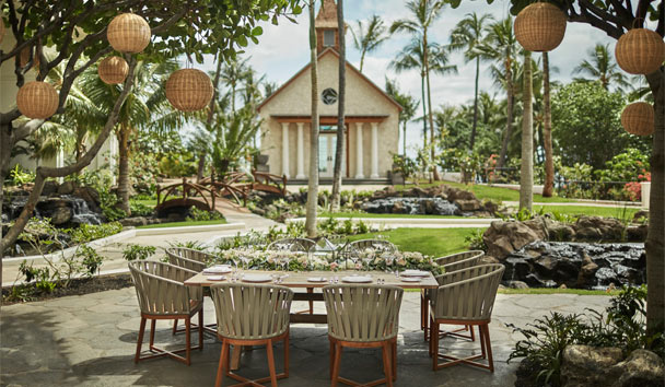 Four Seasons Resort Oahu at Ko Olina: Noe Restaurant Dining