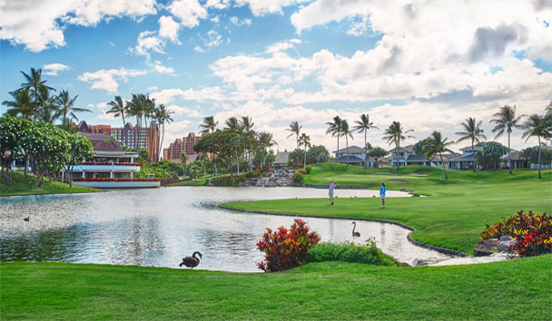 Four Seasons Resort Oahu at Ko Olina: Pond and Gardens
