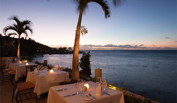 Blue Waters: Cove Restaurant