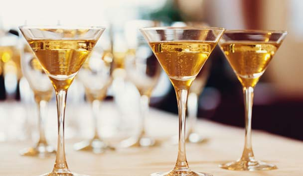 Champagne Receptions and Gala Dinners