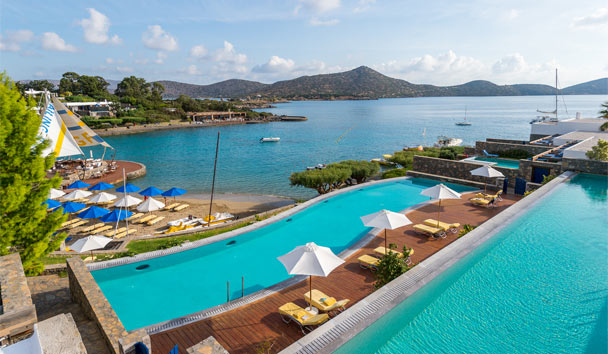 Elounda Bay Palace: Sharing pool view