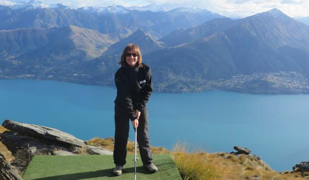 Lofty Picnic and Golf Swing, Glenorchy