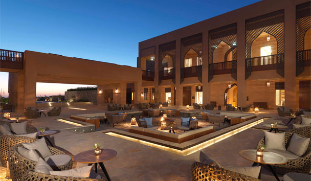 Anantara Al Jabal Al Akhdar Resort: Courtyard