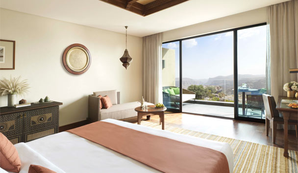 Anantara Al Jabal Al Akhdar Resort: Deluxe Canyon View Room