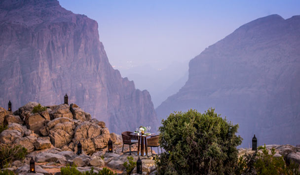 Anantara Al Jabal Al Akhdar Resort: Dining By Design