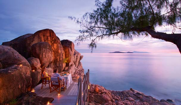 Constance Lemuria, Seychelles: Private Romantic Dining