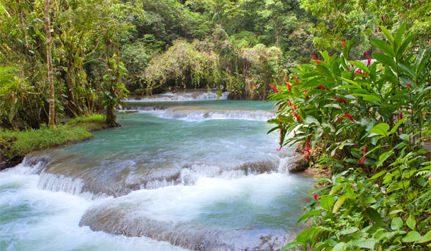 Best Caribbean Islands for 2017: Dunn's River Falls in Jamaica