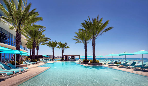 Opal Sands Resort Clearwater Beach: Swimming pool