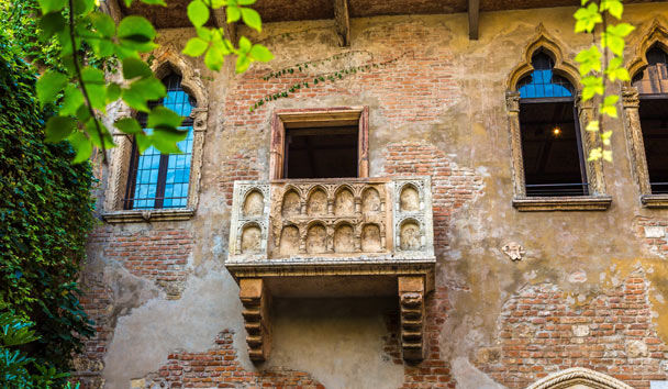 Valentine's Day in Italy: Juliet's Balcony, Verona