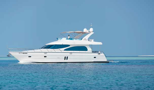 Four Seasons Private Island Maldives at Voavah: Private Yacht