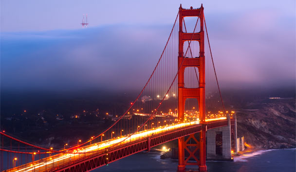 The Iconic San Francisco Golden Gate Bridge