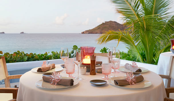 Cheval Blanc St-Barth Isle de France: Dining
