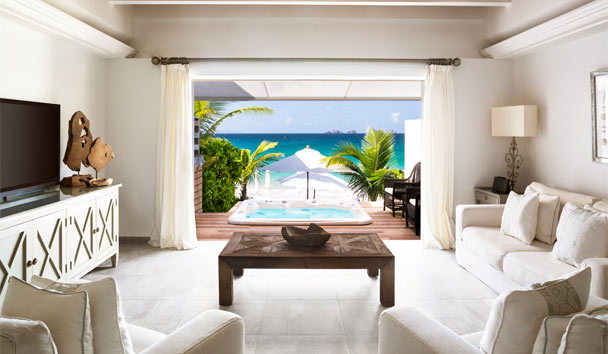 Cheval Blanc St-Barth Isle de France: Two Bedroom Beach Suite