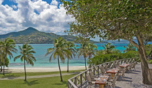 Petit St Vincent Private Island: Deck Dining