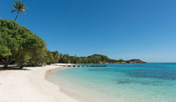 Petit St Vincent Private Island: Beach