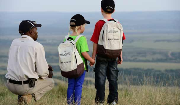 Kids on Safari, Shamwari, South Africa