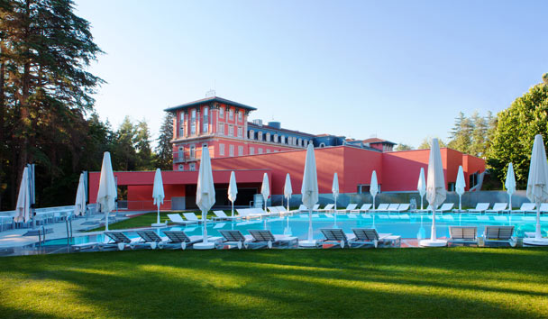 Vidago Palace: Swimming Pool