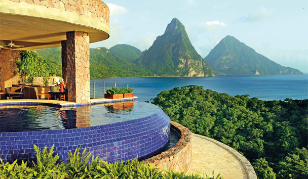 Jade Mountain: Infinity Pool