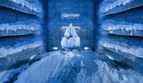 Top Ten Spas: Jumeirah Zabeel Saray, Snow Room