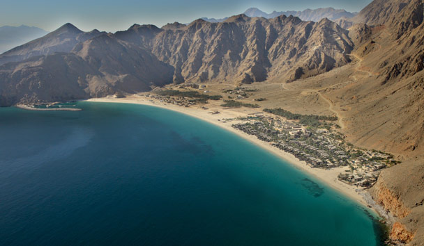 Six Senses Zighy Bay: Aerial View