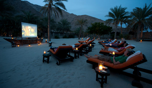 Six Senses Zighy Bay: Cinema Paradiso