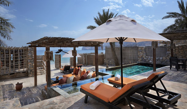 Six Senses Zighy Bay: Pool Villa Suite Beachfront