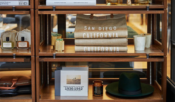 Pendry San Diego: Provisional shopping boutique
