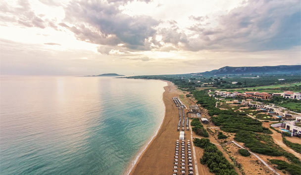 The Westin Resort, Costa Navarino: Aerial view