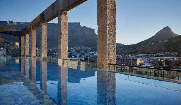 The Silo Hotel: Roof Top Pool