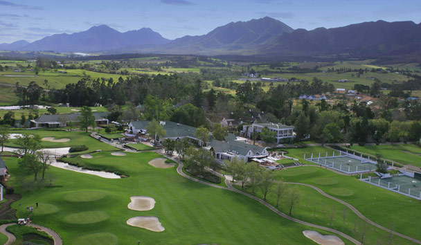 Fancourt Hotel & Spa: Aerial view