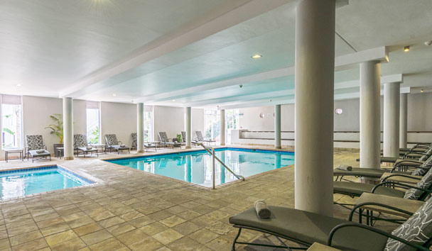 Fancourt Hotel & Spa: Indoor swimming pool