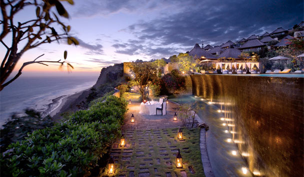 Bvlgari Resort Bali: Romantic dinner by the pool