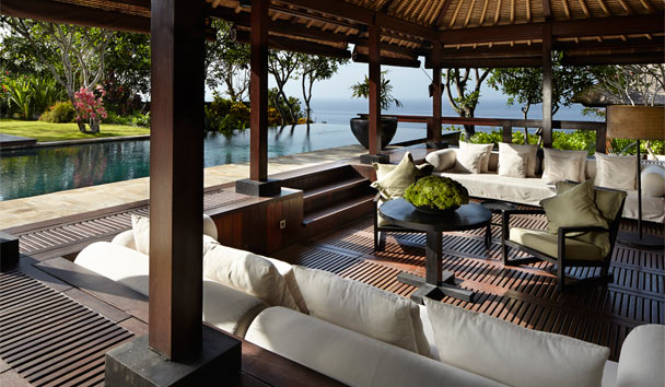Bvlgari Resort Bali: Villa outdoor pavilion