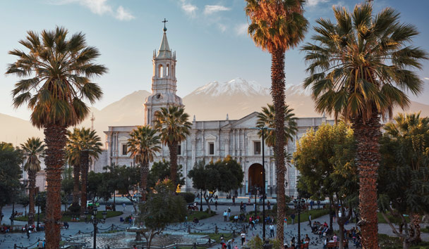 Belmond Andean Explorer: Arequipa, the 'White City'