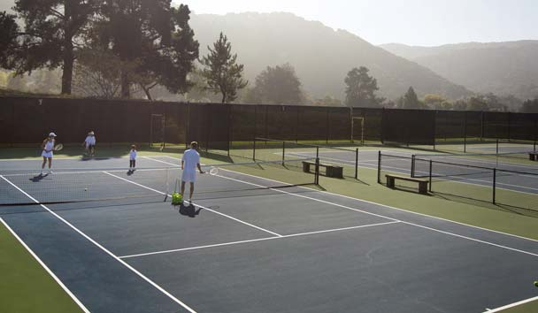 Carmel Valley Ranch: Tennis - 6 Hard Courts, 2 Har-Tru Clay Courts Available