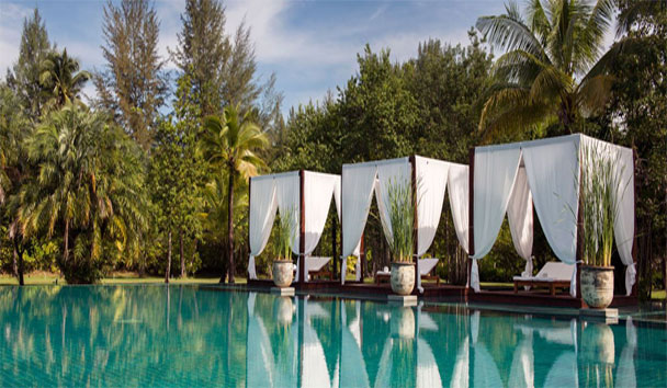 The Sarojin: Poolside Cabanas