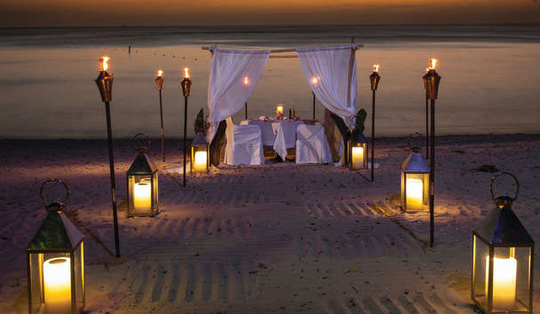 Romance in Barbados: Private Dining