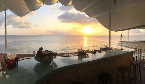 Romance in Barbados: Sunset at The Cliff
