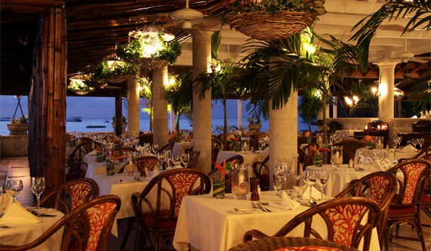 Coral Reef Club: Restaurant