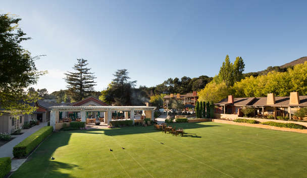 Bernardus Lodge and Spa: Croquet Lawn And Bocce Court