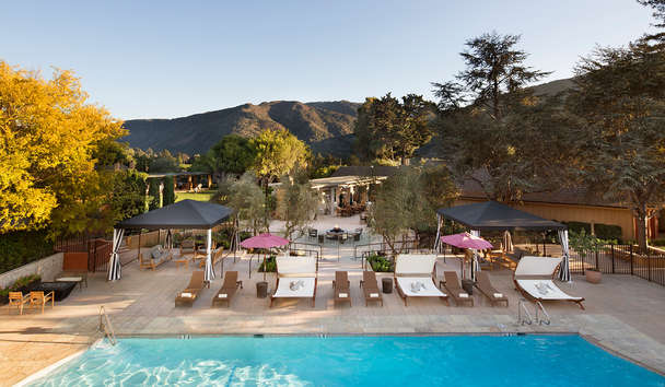 Bernardus Lodge and Spa: Pool Side