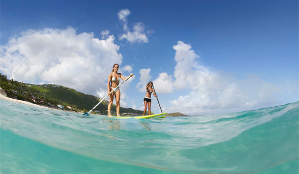 Cheval Blanc St-Barth Isle de France: Paddleboarding
