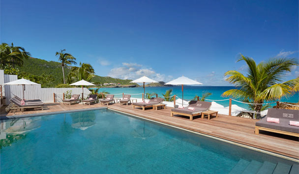 Cheval Blanc St-Barth Isle de France: Swimming pool