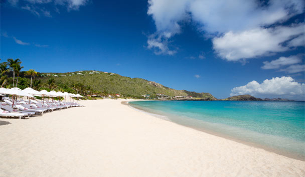 Cheval Blanc St-Barth Isle de France: Beach